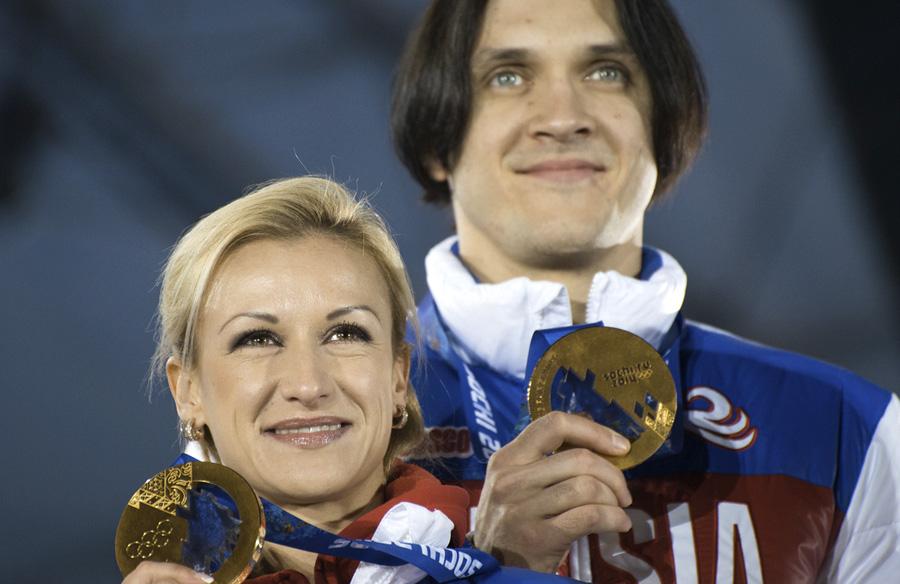 На фото: Татьяна Волосожар и Максим Траньков