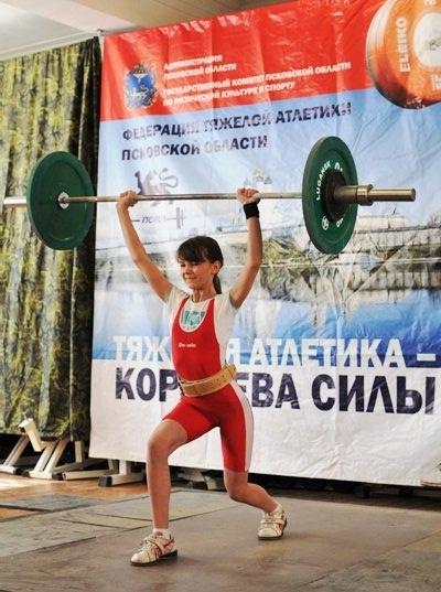 На фото: Мария Петрова (Себеж)