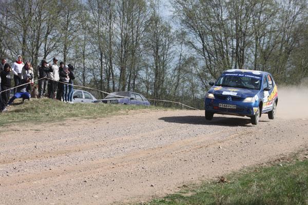 На фото: Сергей Алексеев и Дарья Никишина на шестом скоростном участке