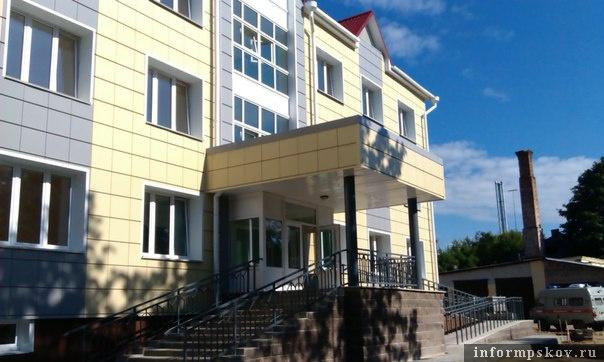 На фото: новое здание поликлиники