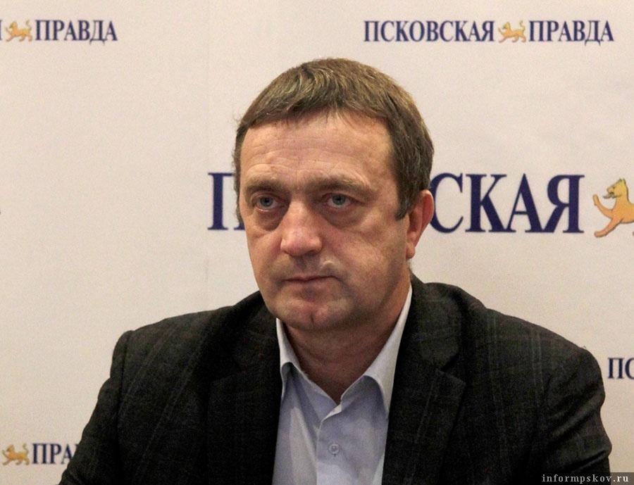 Руководитель центра партнёрских продаж псковского офиса «ВСК» Владимир Макеев