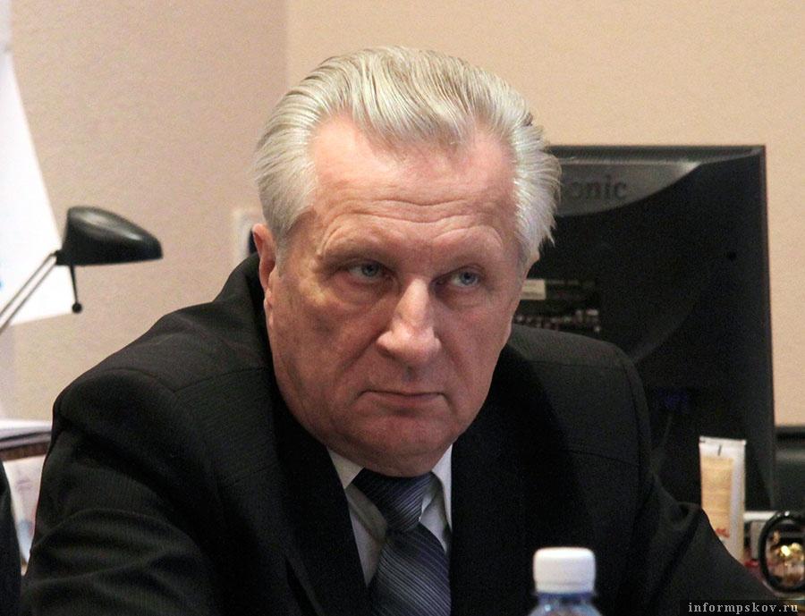 Директор псковского филиала «Ингосстраха» Анатолий Романенков
