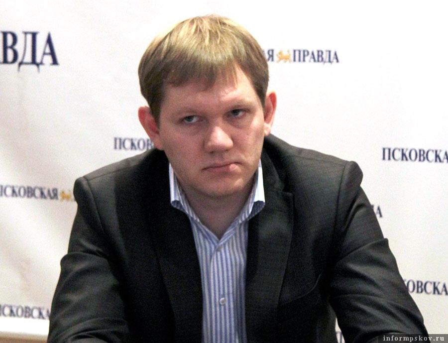Директор псковского филиала страховой фирмы «Согаз» Вячеслав Копытов