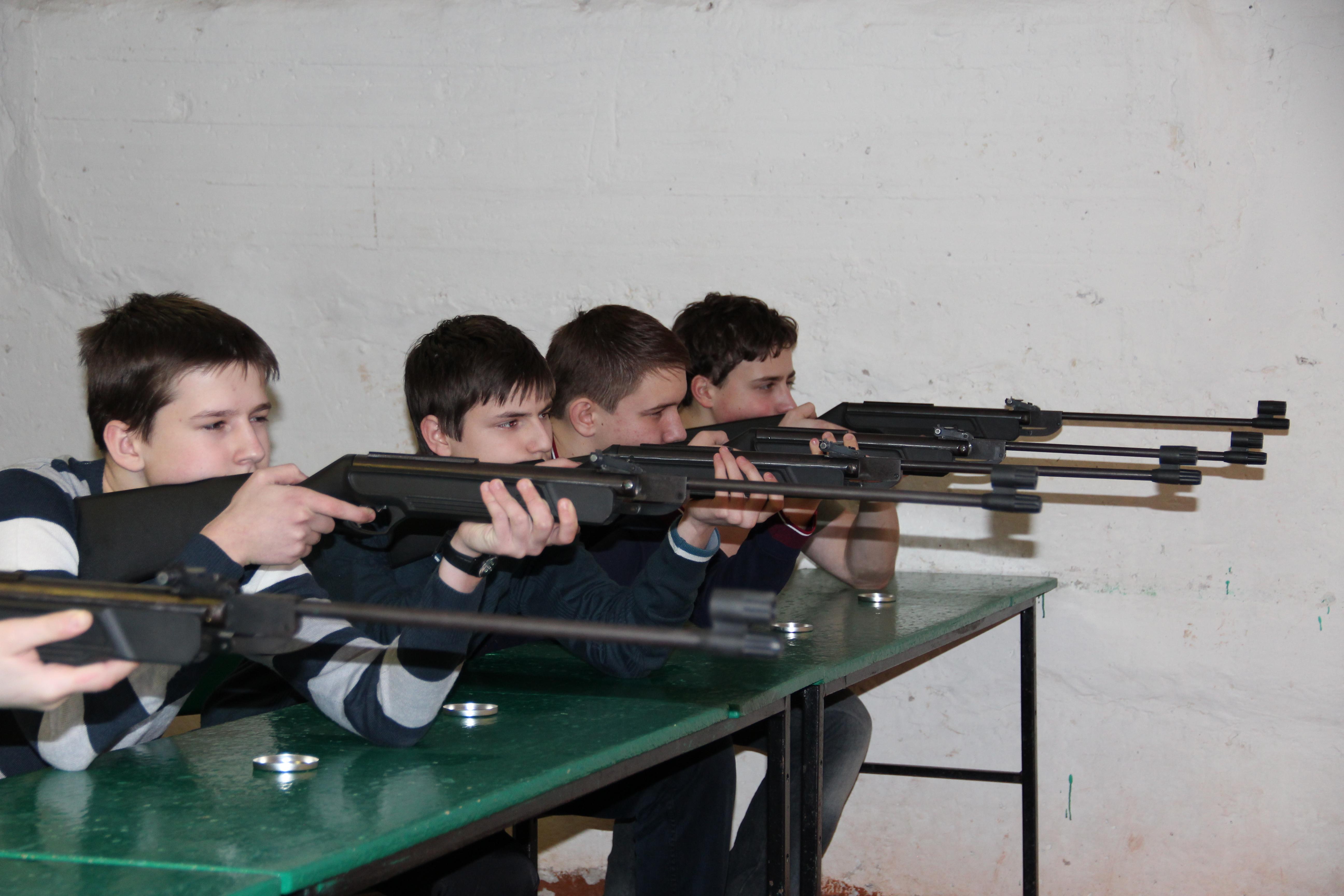 Картинка юный стрелок