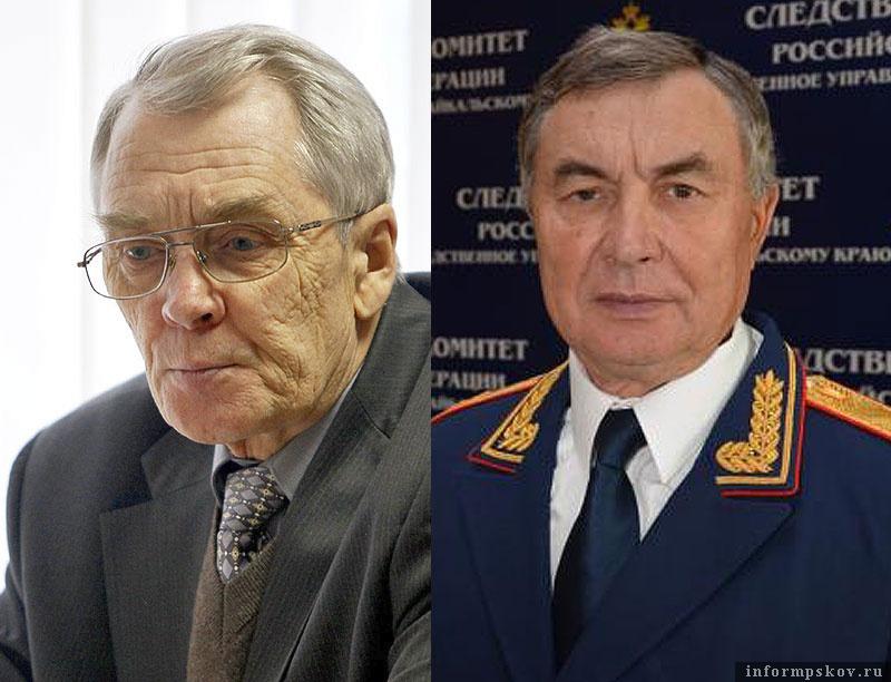 Бывший омбудсмен Виктор Иванов и претендент на этот пост Геннадий Подзноев