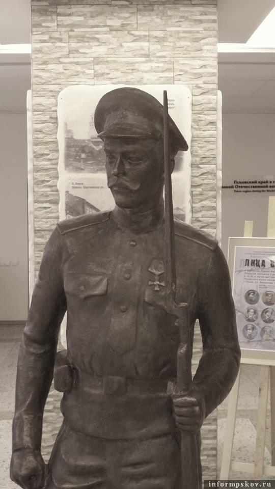 На фото: Памятник солдату Первой мировой войны