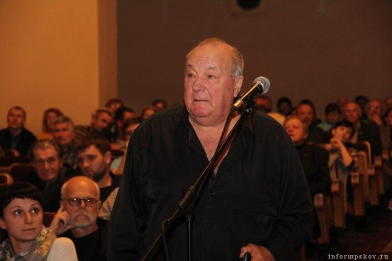 Юрий Новохижин. Фото с сайта pskovgorod.ru
