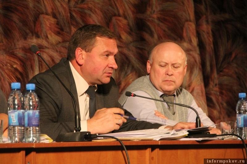 Иван Цецерский и Сергей Кондратьев. Фото с сайта pskovgorod.ru