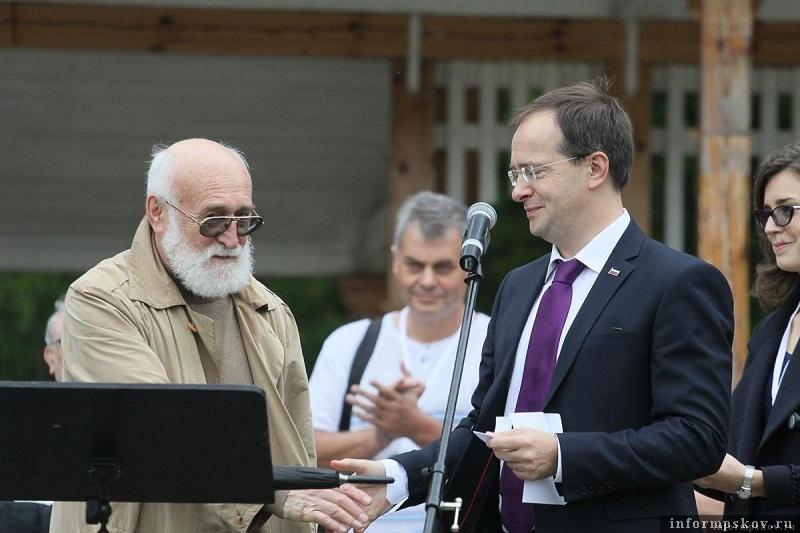 Геннадий Литвинцев и Владимир Мединский