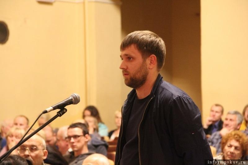 Константин Вилков. Фото с сайта pskovgorod.ru