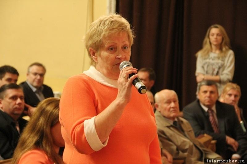 Ирина Голубева. Фото с сайта pskovgorod.ru