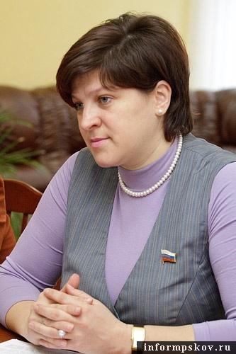 На фото: Наталия Соколова