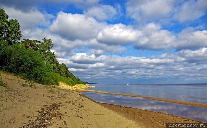 Пейзажи побережья Чудского озера располагают не столько к занятиям сельским хозяйством, сколько к отдыху
