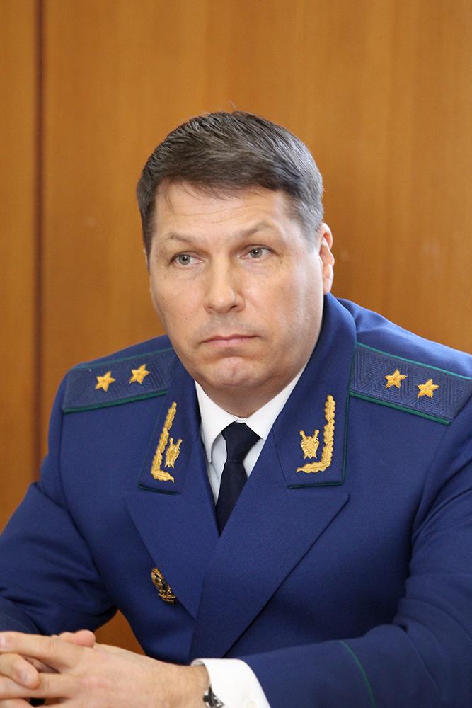 Прокурор Псковской области Сергей Белов