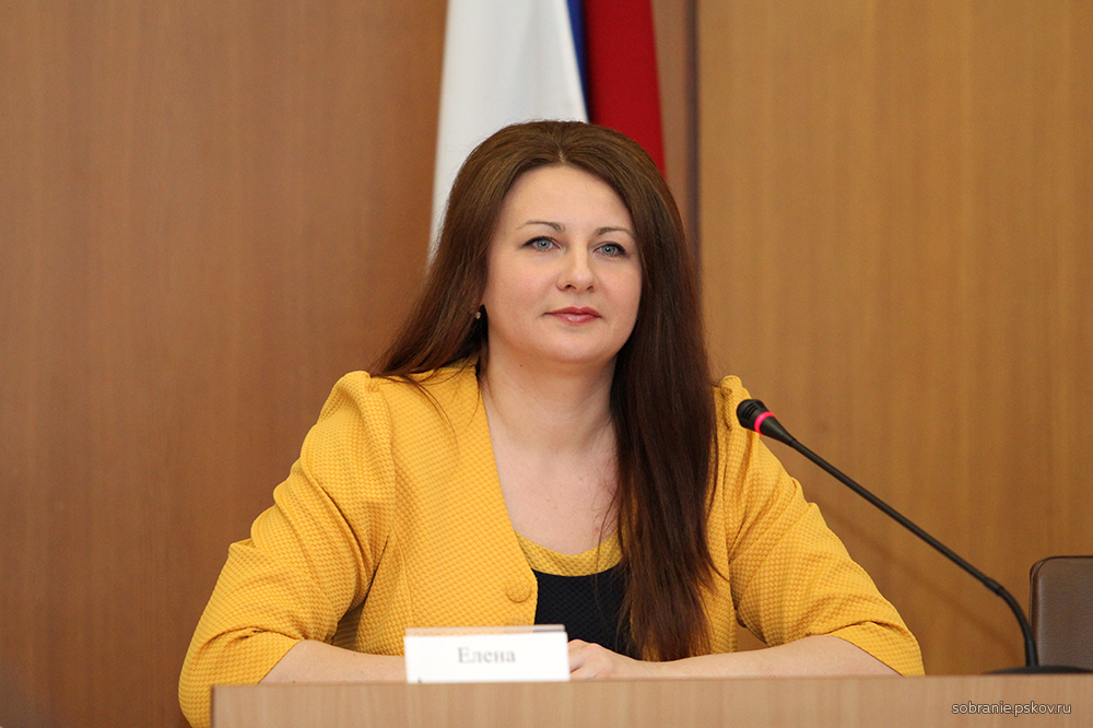 На фото: Елена Полонская