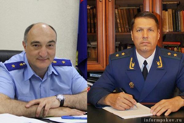 На фото: (слева направо) Тимур Кебеков и Сергей Белов