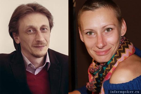 На фото: Сергей Дамберг и Татьяна Мартынова