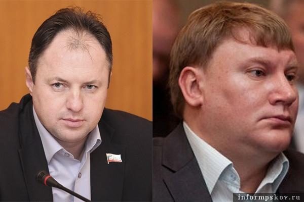На фото: (слева направо) Андрей Козлов и Александр Братчиков