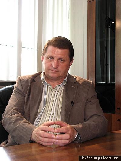 На фото: Владимир Кушнир