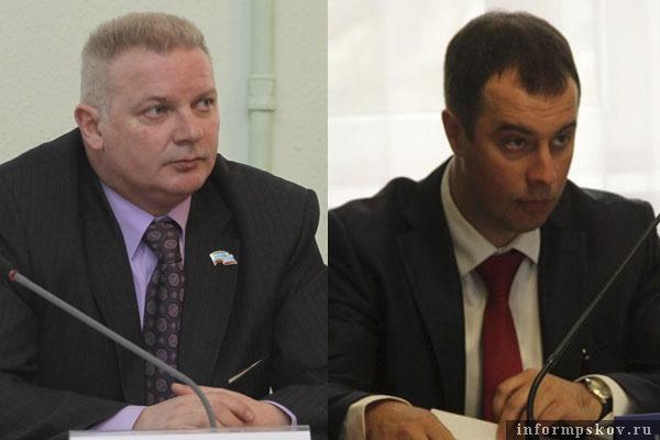 На фото: (слева направо) Игорь Дитрих и Илья Комиссаров