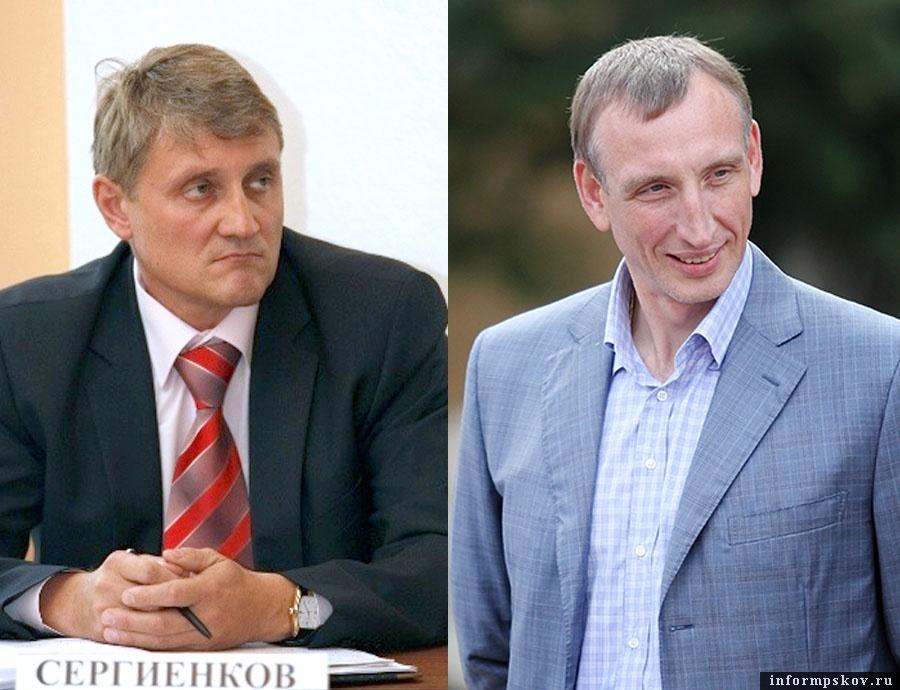 На фото: (слева направо) Сергей Сергиенков и Александр Козловский