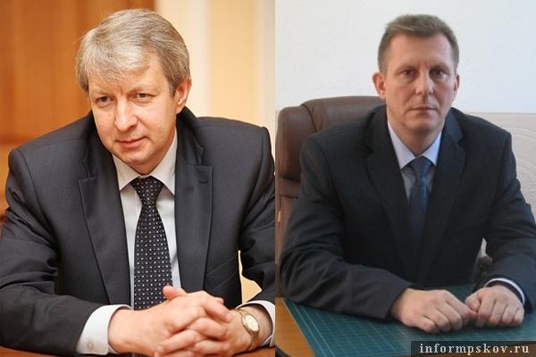 На фото: (слева направо) Виталий Мурагин и Алексей Кальян