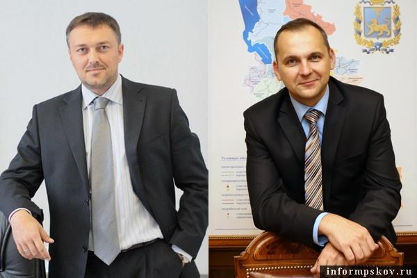 На фото: (слева направо) Юрий Шахбазов и Александр Пеганов