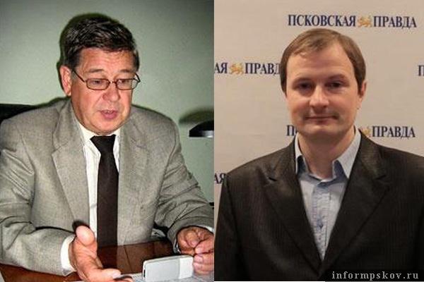 На фото: (слева направо) Виктор Уралов и Алексей Малов