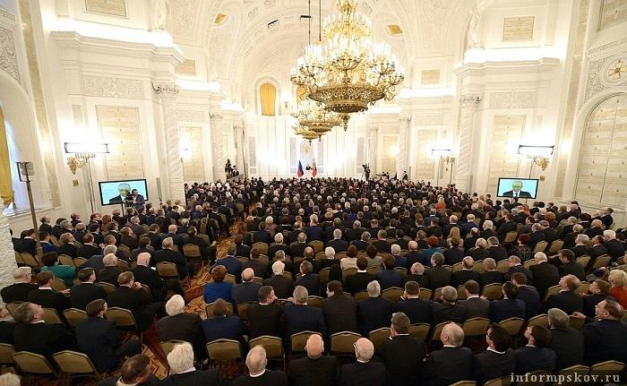 Послание президента не могло не стать ориентиром для региональных властей. Фото с сайта kremlin.ru