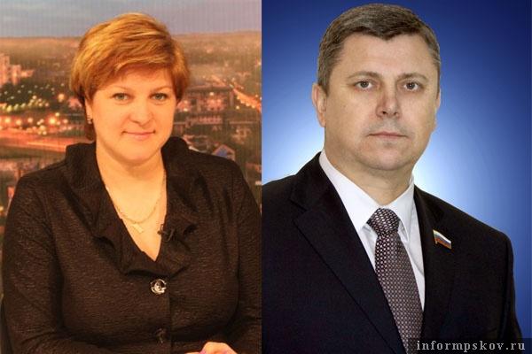 На фото: Наталия Соколова и Игорь Сиротин