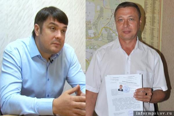 На фото: (слева направо) Владимир Иванов и Виталий Андреев