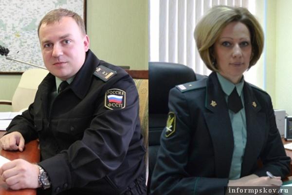 На фото: Павел Буренков и Оксана Микитяк