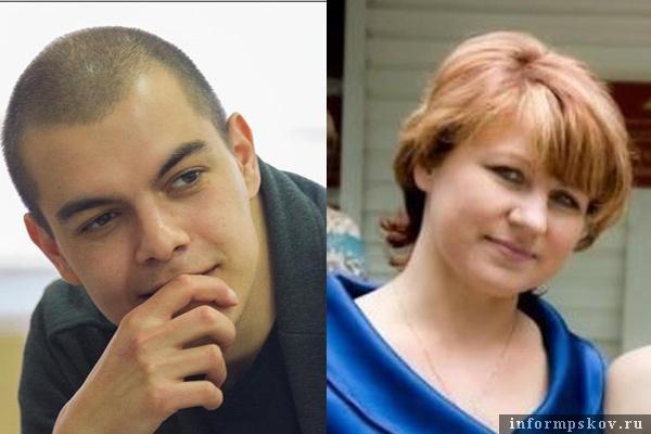 На фото: Александр Захаров и Светлана Боженко