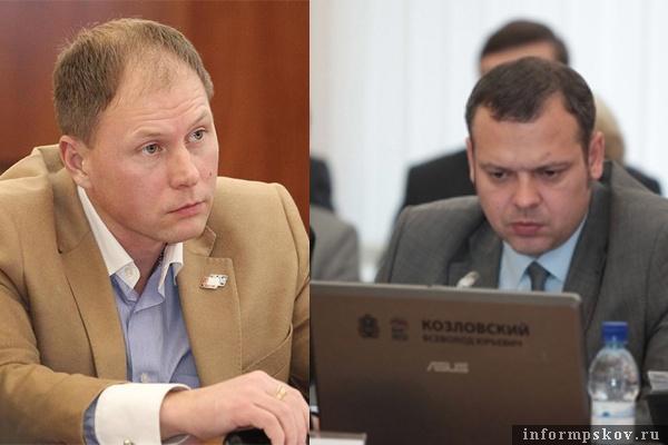 На фото: (слева направо) Аркадий Мурылёв и Всеволод Козловский