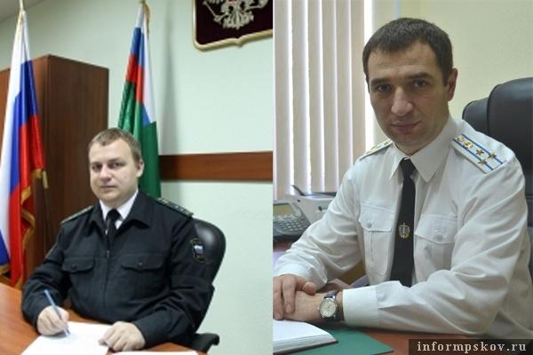 На фото: (слева направо)  Павел Буренков и Аслан Токаев