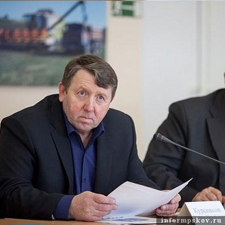На фото: Леонид Курсенков