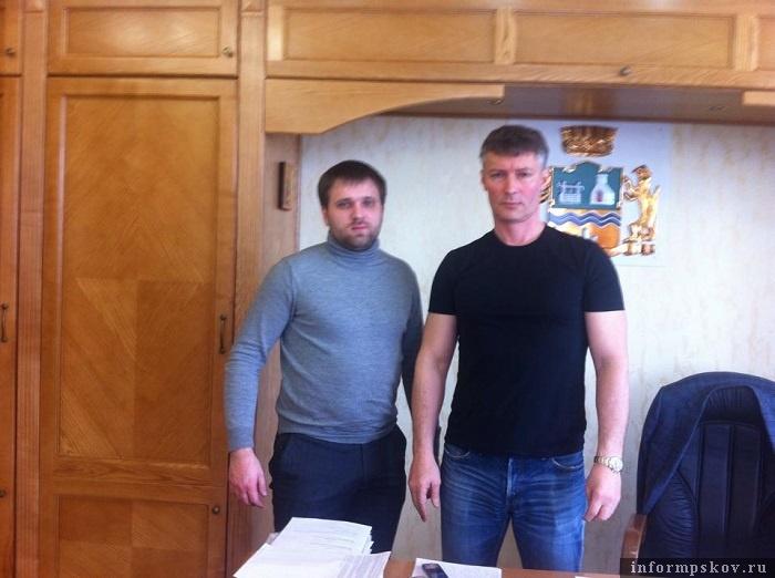 Константин Вилков и Евгений Ройзман. Фото из социальных сетей