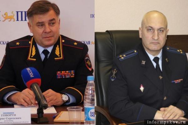 На фото: (слева направо) Борис Говорун и Игорь Егоров
