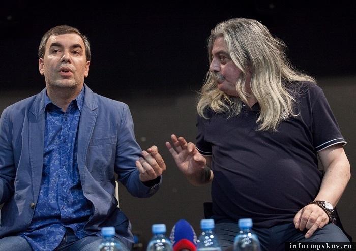 На фото: (слева направо) Александр Кладько и Григорий Козлов