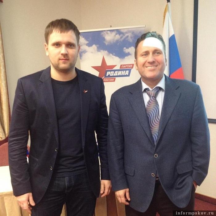 Константин Вилков и Евгений Минченко. Фото из социальных сетей
