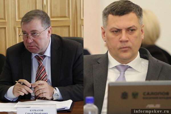 На фото: (слева направо) Сергей Курбатов и Василий Салопов