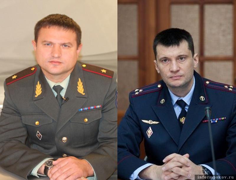 На фото: (слева направо) Александр Дроздов и Максим Сапожников