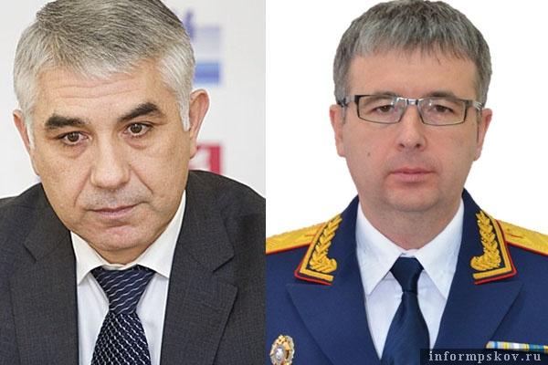 На фото: (слева направо) Салават Гумеров и Алексей Устинов