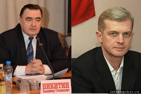 На фото: (слева направо) Владимир Никитин и Игорь Ревин