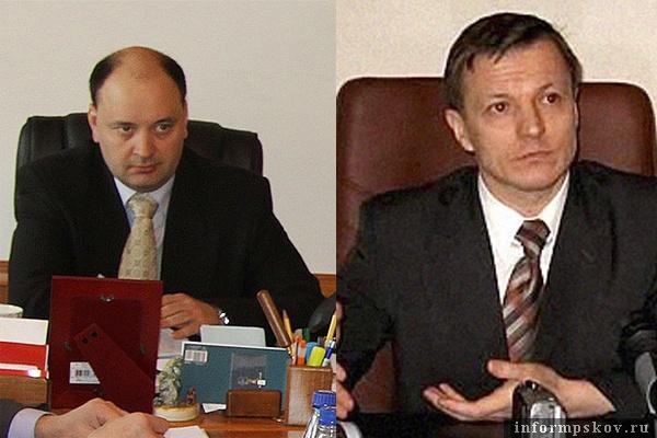 На фото: (слева направо) Александр Розов и Николай Филипчик