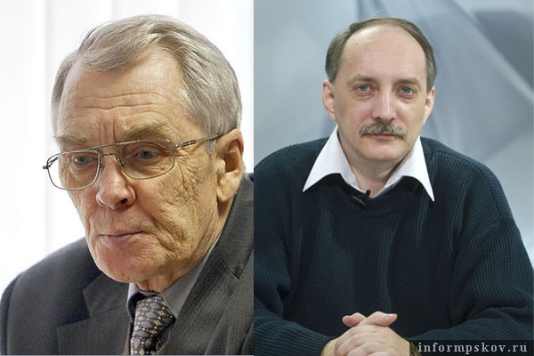 На фото: (слева направо) Виктор Иванов и Дмитрий Шахов