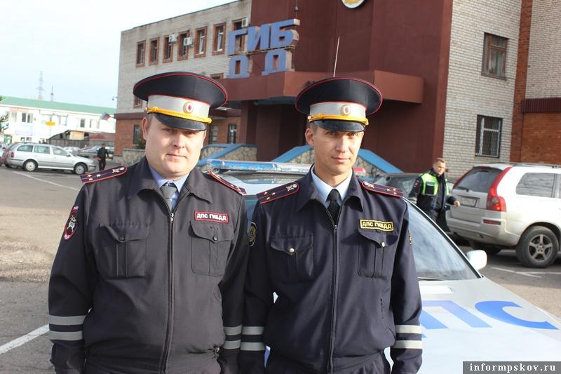 На фото: (слева направо) Сергей Гаврилов и Николай Васильев