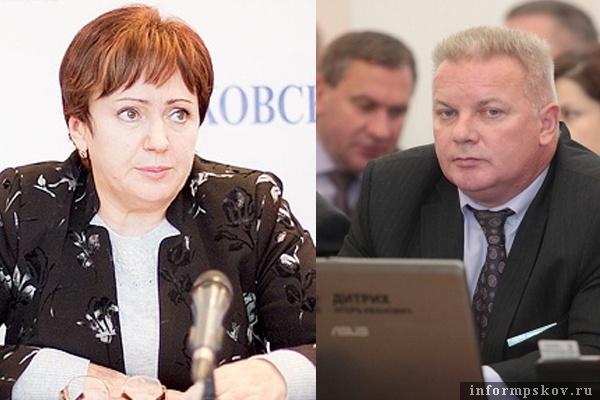 На фото: Елена Бибикова и Игорь Дитрих