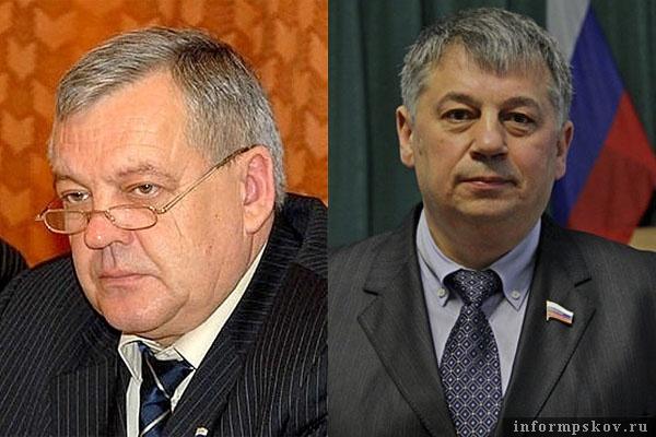 На фото: (слева направо) Сергей Никифоров и Сергей Гаврилов