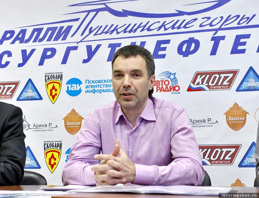 На фото: Олег Мыслевич